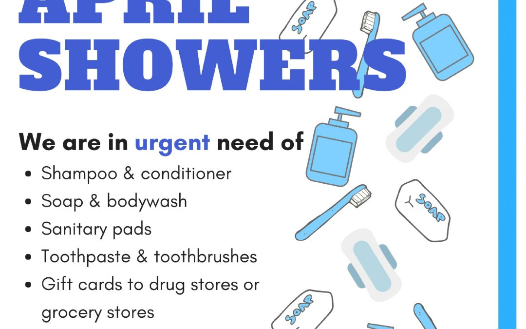 Bring April Showers: 2018 Hygiene Drive