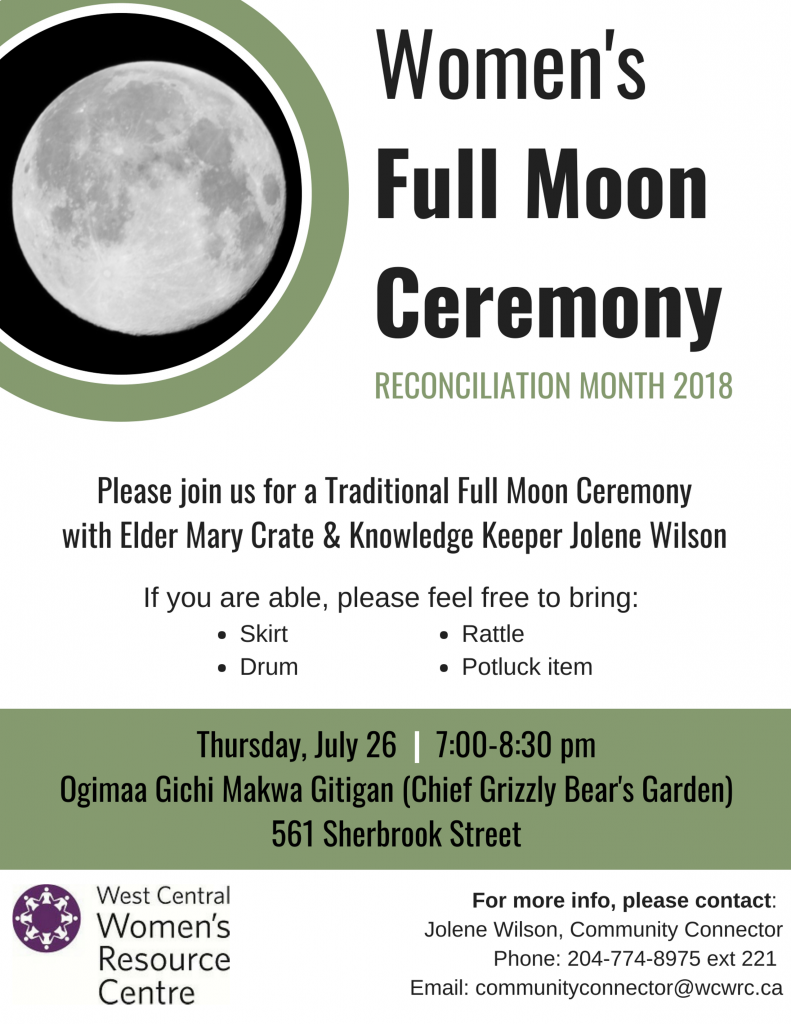 Full Moon Ceremony Poster
