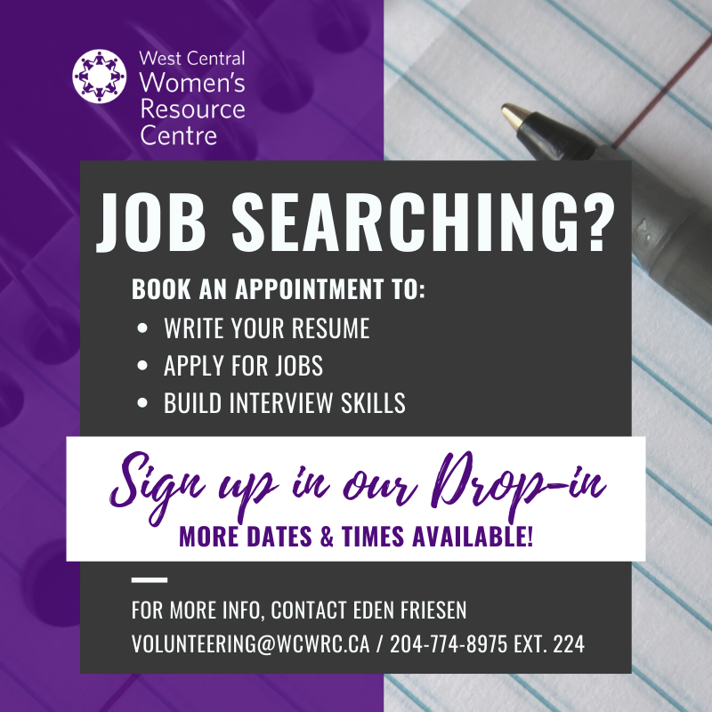 Poster for Job Searching supports