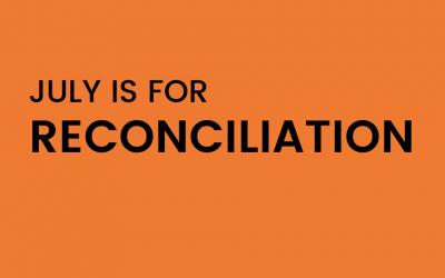 Reconciliation Month